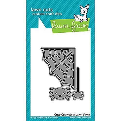 LAWN FAWN Cuts Custom Craft Dies: Cute Cobweb (Creative Ideas For Halloween 2017)