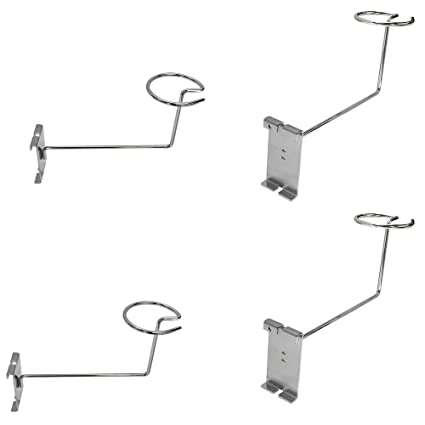 "10 Pc GLOSS BLACK 8/"" Long Gridwall Hooks Grid Panel Display Wire Metal Hanger"