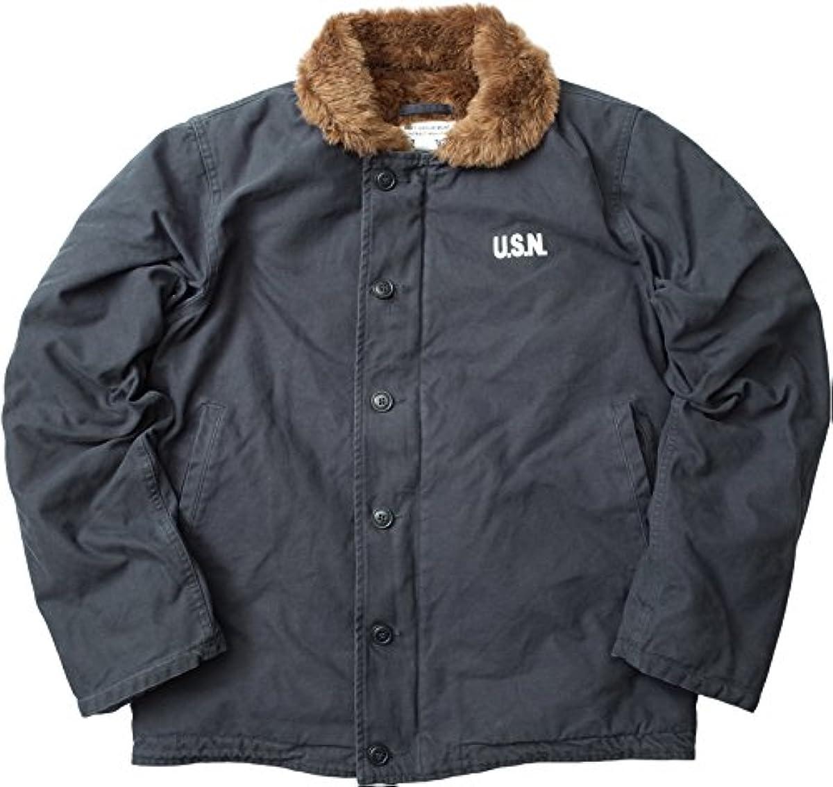 [해외] YMCLKY오리지널 미군 퍼터입 N-1 데크 재킷 워시 가공 퍼터이트 모델 신품