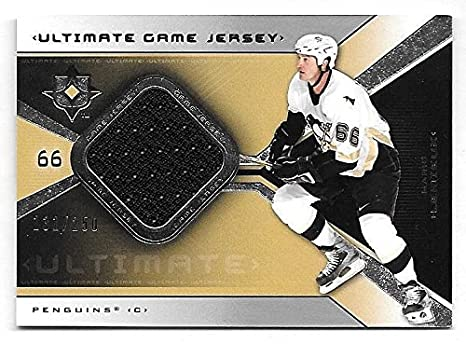 the latest 914ed c95ac 04/05 Ultimate Collection #ML Mario Lemieux Jersey Card #131 ...