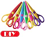 Children Laciness Scissors Paper Diy Tools , 1Lot= 6 Patterns