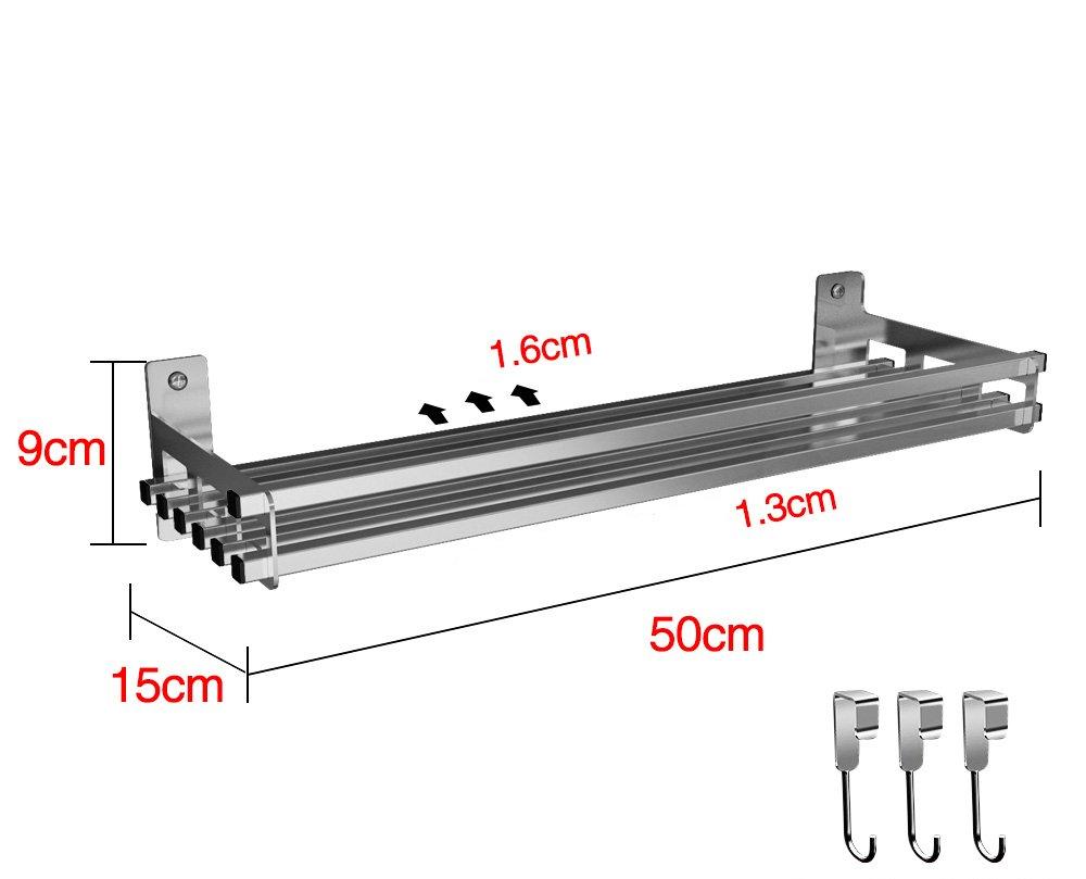 Rack/304 Edelstahl Kü che Rack/Wand/Wand Rack/Rack/gestell Mikrowelle Rack/gestell (grö ß e : 15*40cm) BOBE SHOP