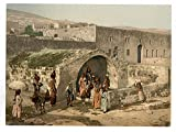 Historic Photos The virgin's fountain, Nazareth, Holy Land, (i.e. Israel)