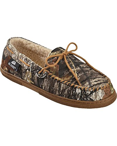 Double Barrel Men's Camouflage Moccasins Camouflage 10 US