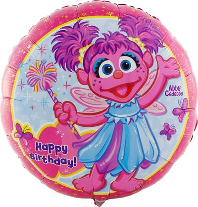 Birthday Express - Abby Cadabby Foil Balloon - , 18''