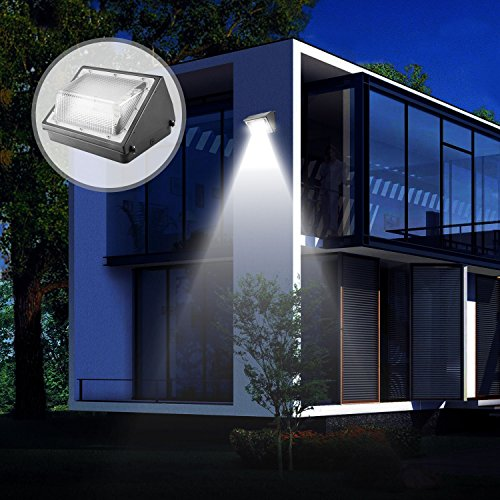 Dusk-to-dawn Photocell,Waterproof IP65 , Cinoton LED Wall Pack Light,26W 3000lm