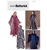 Butterick Sewing Pattern 4050 - Use to Make - Men's/Misses' Unisex Hooded Robes - Sizes XS, S, M