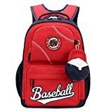 Best Backpack Bookbags For Boys - Fanci Baseball Cap Primary School Backpack Junior Schoolbag Review