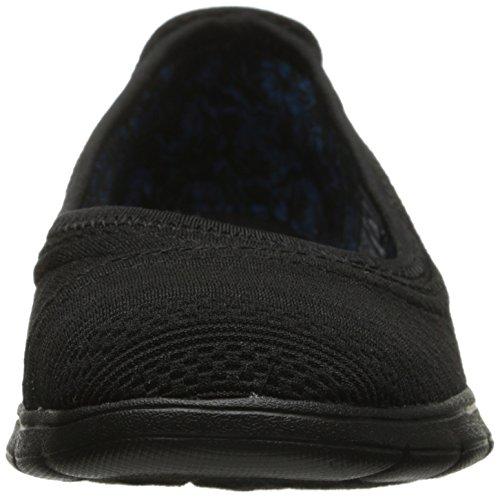 Bobs De Skechers Pureflex Supastar Flat Negro/Negro