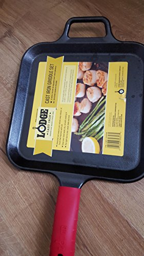 lodge 12 inch griddle - 4