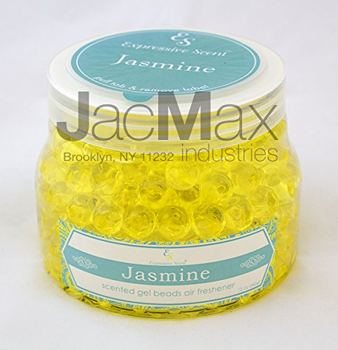 Jasmine 12oz Scented Air Freshener Gel Beads By Expressive Scent