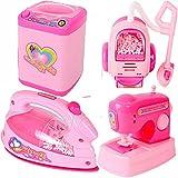 Tickles Pink Doll Houshold Appliances Set For Girls
