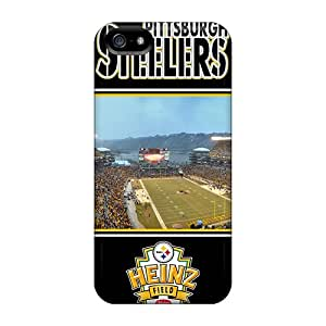 Hard Protect Phone Cases For Iphone 5/5s (JQV9736ITca) Support Personal Customs High Resolution Pittsburgh Steelers Series