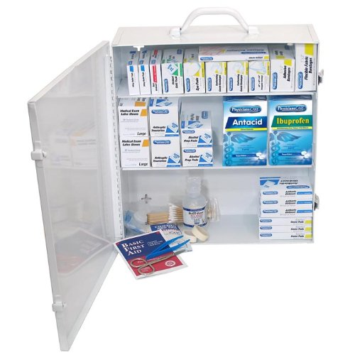 PhysiciansCare by First Aid Only Industrial ANSI / OSHA First Aid Kit for 100 People, Contains 721 Pieces