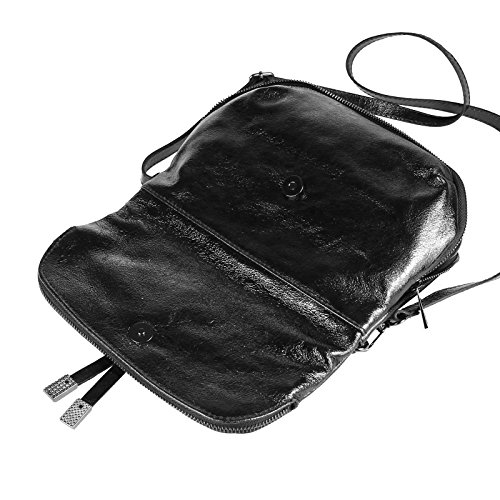 OBC Only-Beautiful-Couture - Bolso al hombro para mujer negro negro ca.: 27x22x7 cm (BxHxT) negro