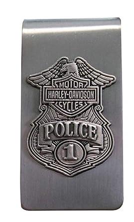 Amazon.com: Harley-Davidson Policía Original Antiguo níquel ...