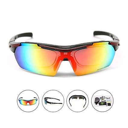 Gafas de sol de ciclismo Hombres y mujeres Gafas de sol ...