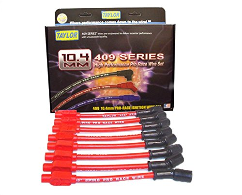 Taylor Cable 79205 409 Pro-Race Spiro-Wound Core Spark Plug Wire Set - Core Plug Wire