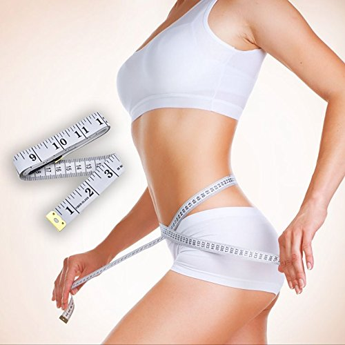 6 Pack Tape Measure 150cm//60 Inch 2 cm Width Double-Scale Soft Tape Measuring Body Weight Loss Medical Body Measurement Sewing Tailor Cloth Ruler Dressmaker Flexible Ruler