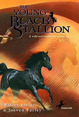 book cover of The Young Black Stallion