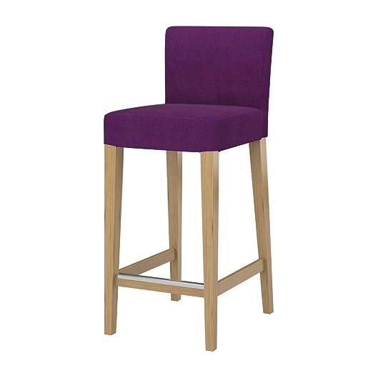 Soferia - IKEA HENRIKSDAL Funda Taburete Alto , Senses Purple ...