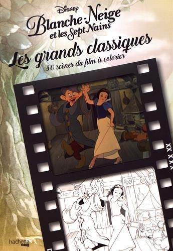 Coloriage Adulte Blanche Neige.Les Grands Classiques A Colorier Blanche Neige Amazon Fr