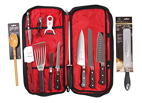 Mercer Culinary Renaissance Forged Cutlery Food Lab Kit, Black