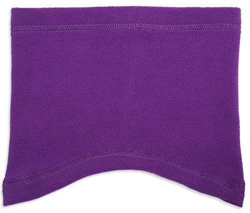 Kids Turtles Neck Warmer (Mid-Weight Fleece Neck Gaiters for Kids By Zelda Matilda The Perfect Scarf Alternative-No More Dragging Wet Scarfs On The Ground Extra Soft and Comfortable. Keeps Necks Warm-Great For Winter Sports (Purple, 1-3 years))