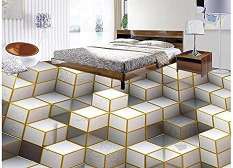 Lfgong pavimento impermeabile pittura murale di d stereoscopico