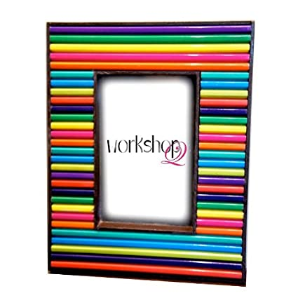 Buy Photo Frame Pencil Colour fancy funky photo frames Online at Low ...