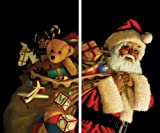 "WOWindow Posters Santa with Toy Sack Christmas Window Decoration includes two 34.5""x60""Backlit Posters"
