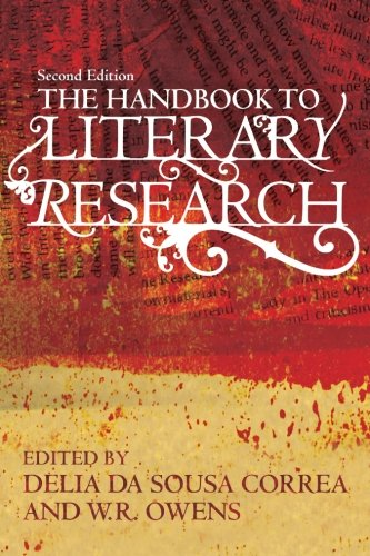 Book cover from The Handbook to Literary Research by DELIA OWENS MARK OWENS