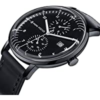 MINI FOCUS Analog Men's Business Leather Watch