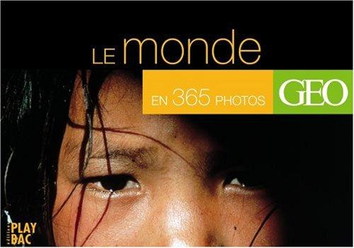 Le tour du monde en 365 photos spectaculaires (agenda avec spirale et socle pour bureau)