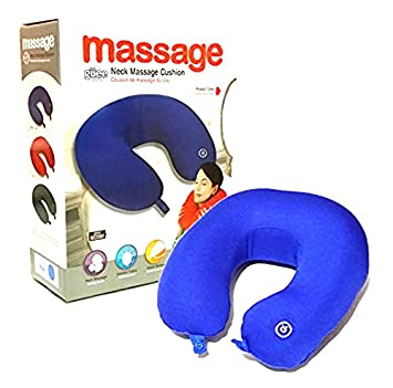 Neck Massage Pillow Microbead Vibrating Massage Travel Mp3 Pillow With  Speaker Imported Music Neck Massager Pillow