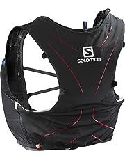 SALOMON ADV Skin 5 Set Mochila para Carrera de montaña, Práctica y Ligera, Capacidad 5L, SoftFlask incluida, Unisex Adulto
