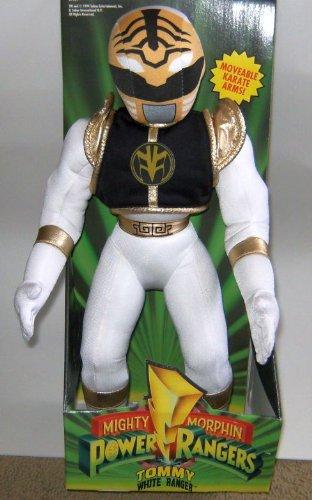 Power Rangers 16  Plush White Ranger Figure