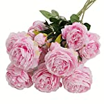Htmeing-5pcs-3-Heads-Silk-Peonies-Artificial-Flowers-Fake-Bouquets-Arrangement-for-Home-Decoration-Pink