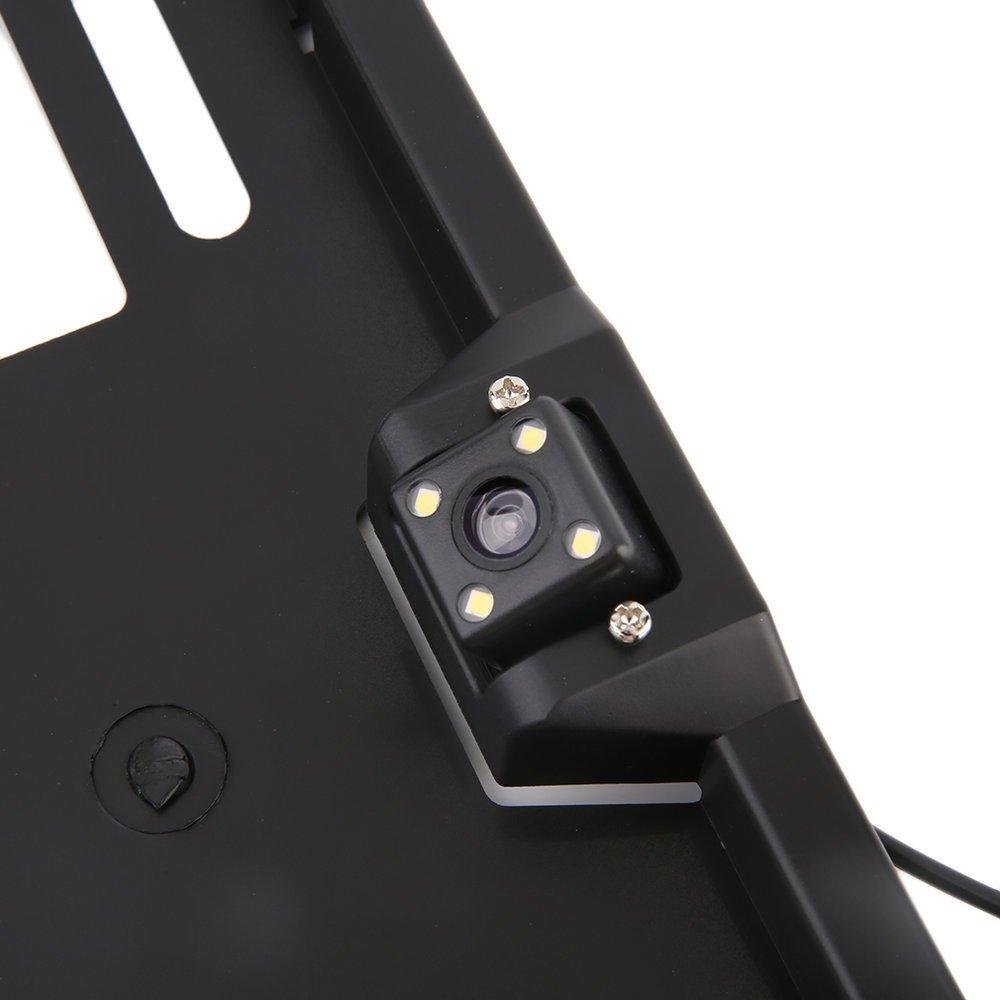 KinshopS Funk Rückfahrkamera Nummernschild: Amazon.de: Elektronik