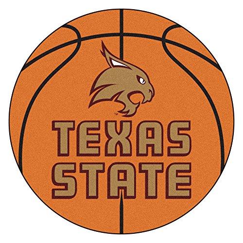 Fan Mats Texas State University Basketball Area Rug ()
