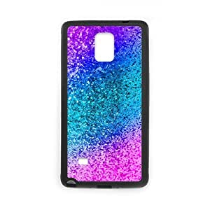 Case for Samsung Galaxy Note 4, Colored Plastic Granules Case for Samsung Galaxy Note 4, Kaktana Black