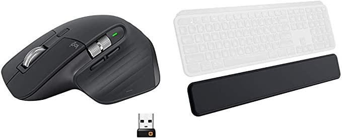 Logitech MX Master 3 Advanced Wireless Mouse  Graphite Bundle with Logitech MX Palm Rest at Kapruka Online for specialGifts