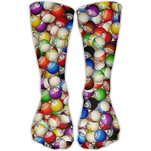 Unisex Chainmail (Billiard Balls Pattern Unisex Popular Sports Compression Socks Running No Show Boat Socks)