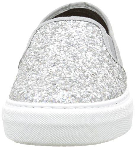 Victoria Plata On Slip 14 Glitter Basse Unisex Argent Adulto Sneaker rzrBwH