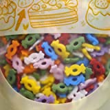 Cheap Natural Rainbow Gluten GMO Nuts Dairy Soy Free confetti Candy Sprinkles (70g/2.47 oz)