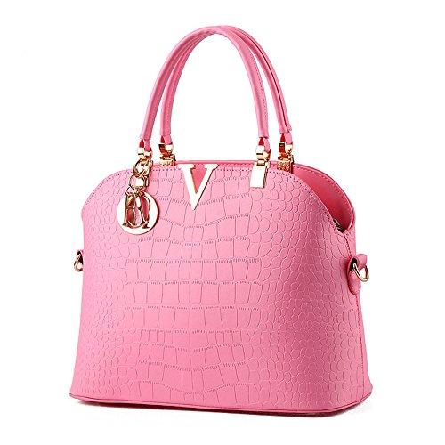 Satchel Royal Leather XIN Tote Bag Bag Blue Messenger Women BARLEY Handbag Shoulder Hobo Purse qffwgX7zx
