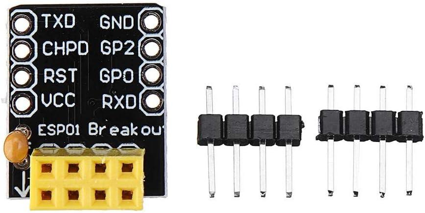 HDHUA Modification Accessories 30pcs ESP01//01S Adapter Board Breadboard Adapter for ESP8266 ESP01S ESP01 Development Board