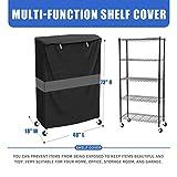 ELIAUK Shelf Cover wire rack cover Storage rack