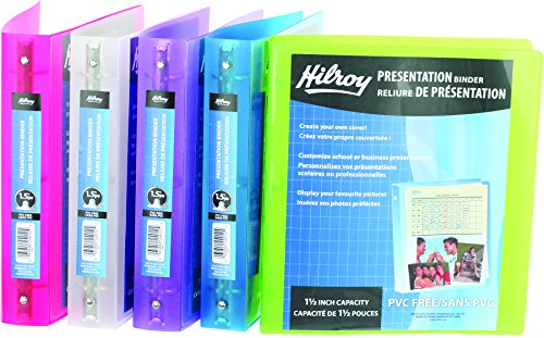 hilroy-24012-15-inch-metallic-poly-presentation-binder-11-1-2x10-inch-assorted-colors