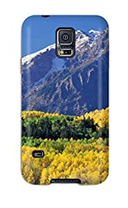 AaGpomf6554mwUxJ Nice Lush Mountains Awesome High Quality Galaxy S5 Case Skin